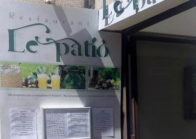 Restaurant Le Patio à Gréoux