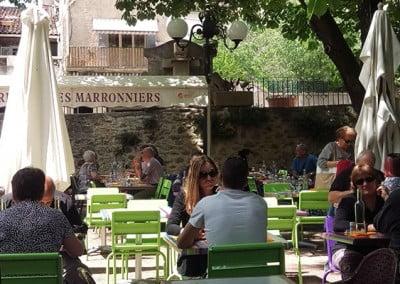 Restaurant Les Marronniers à Gréoux