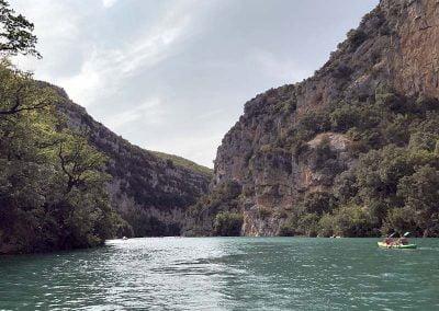 Promenade en bateau dans les gorges du Verdon