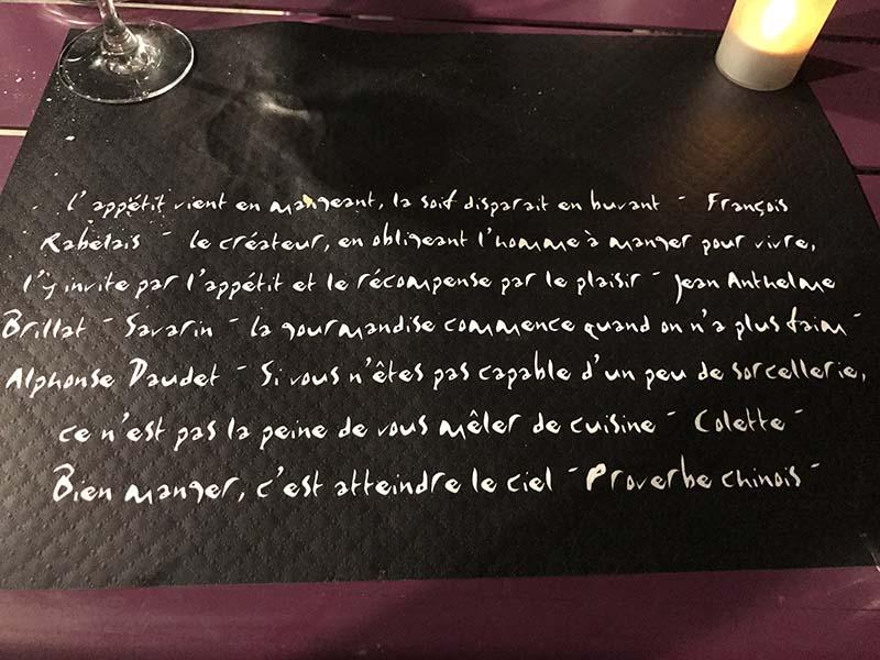 Restaurant proche de la location à Gréoux