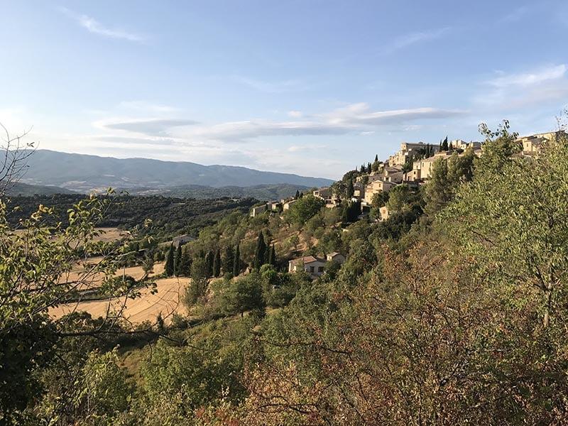 Village de Lurs en provence, près de Gréoux