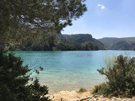 Balade St Julien-plage jusqu'au Balcon du Lac: GRP du Verdon