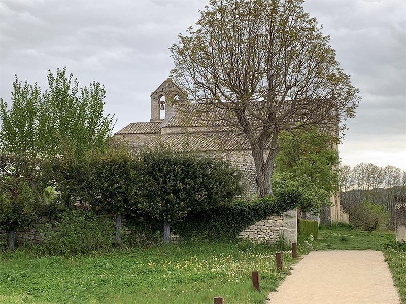 Les alentours du prieuré de Salagon